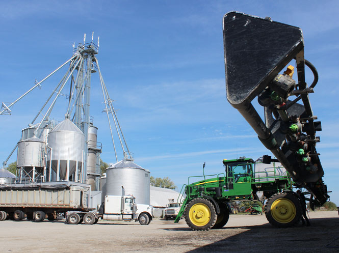Our farm employs capable operators using current technology and equipment
